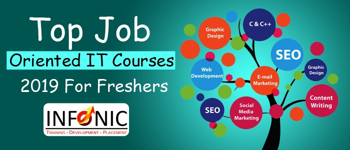 Top Job Oriented IT Courses 2019 For Freshers