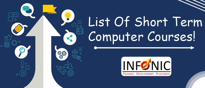 List Of Short Term Computer Courses!-min