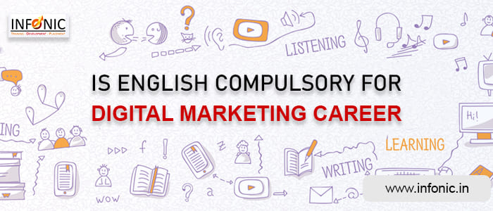 Is English Compulsory for Digital Marketing Career