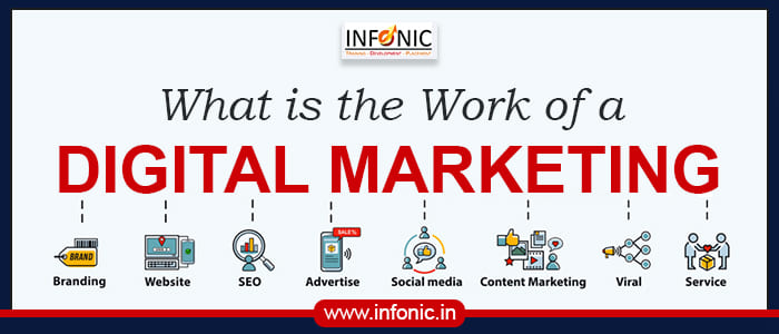 What is the Work of a Digital Marketing